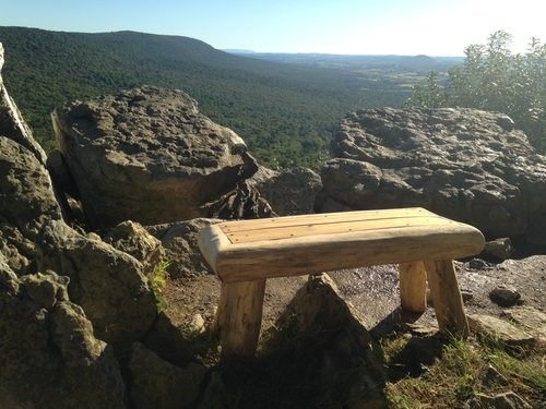 bench at lookout