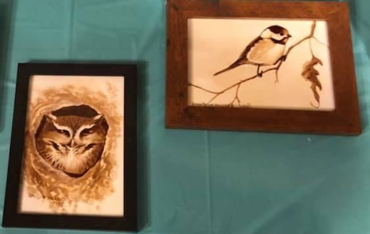 Coffee Painting Examples